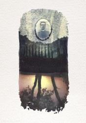 Polaroid Manipulation, lift off