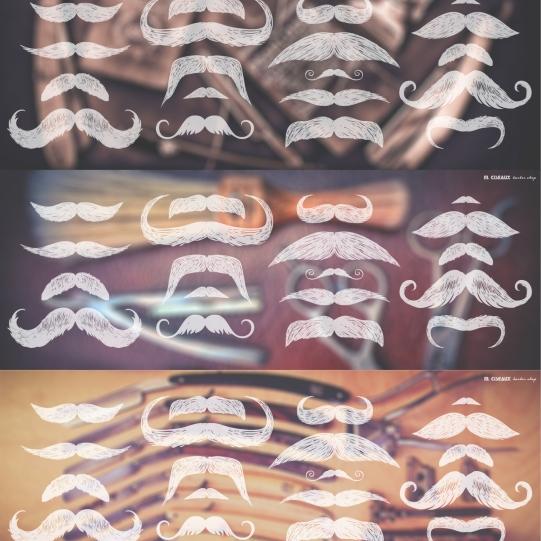 Artworks for M. Ciseaux Barber shop